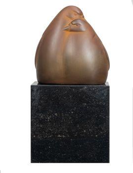 Twee duiven by Evert den Hartog
