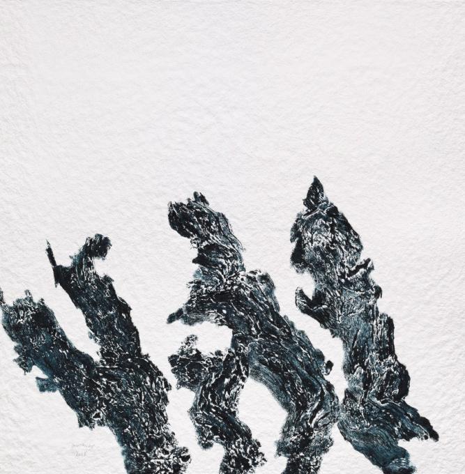 Zonder Titel (Schwarz) by Armando .