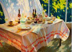 Begin van de avond by Juane Xue