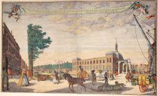 Oude Beurs van Rotterdam  by  Jacob Lindenberg