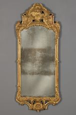 A Dutch Louis XV mirror, ca. 1740