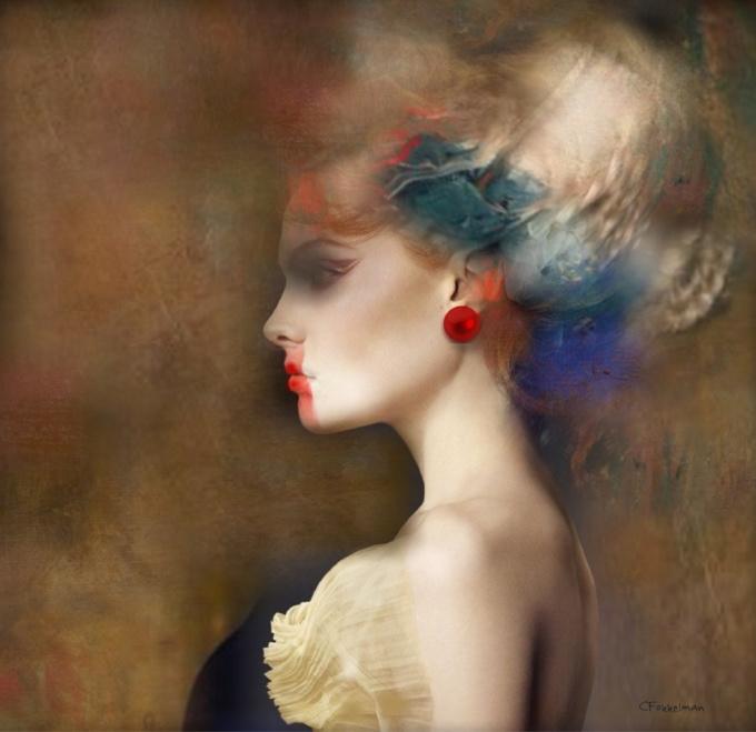 GIRL WTH PEARL by Christine Fokkelman