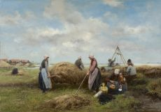 Harvest on Marken by Johannes Marius ten Kate