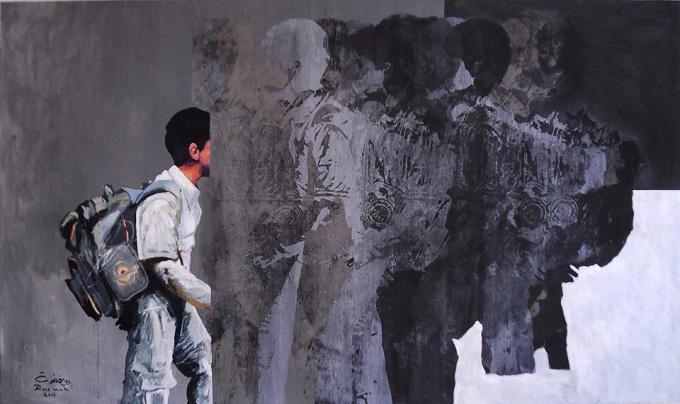 Memory of the Wall by Riyadh Ne'mah
