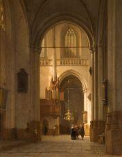 De nieuwe kerk, Amsterdam by Jan Jacob Schenkel