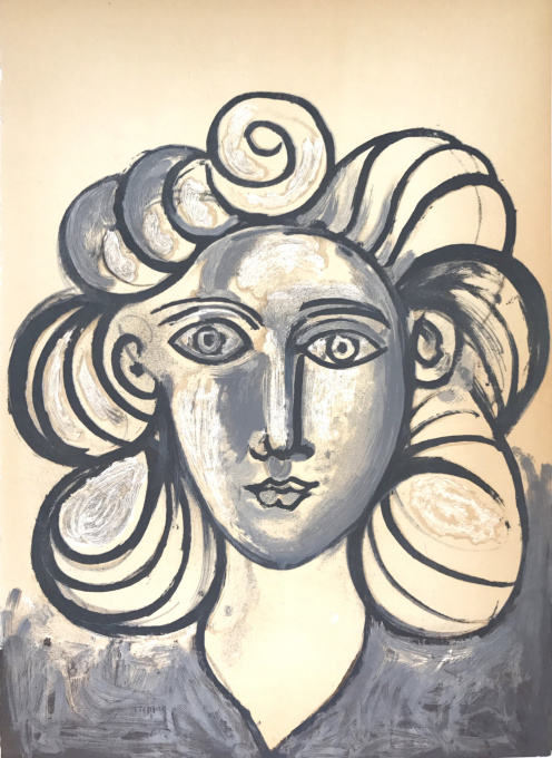 Francoise Gilot 2 by Pablo Picasso