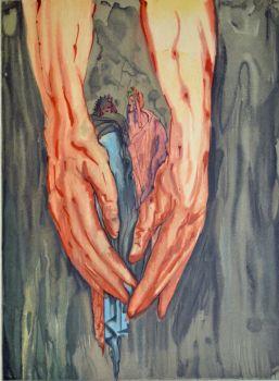 Divina commedia inferno 16 by Salvador Dali