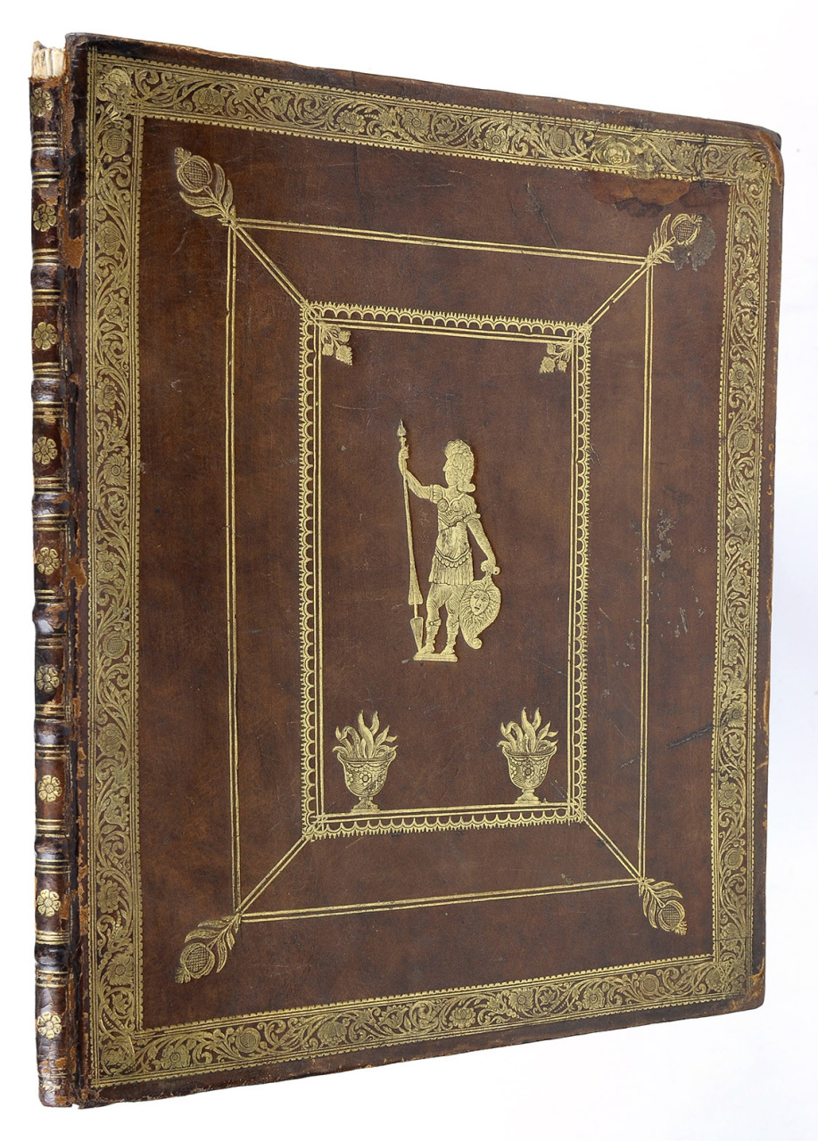 A laudatory poem for the stadholder willem iv in a for Beautiful binding