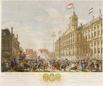 Amsterdam  by  Renier Vinkeles