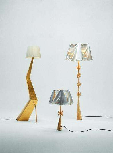 Bracelli Lamp - Sculpture by Salvador Dali