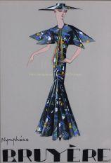 Fashion design  by  Marie Louise Bruyère