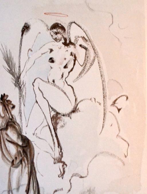 Divina commedia paradiso 31 by Salvador Dali