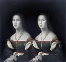 'Unknown Twins' after Rafael by Mary Alacoque Waters
