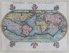 World map – Giovanni Magini, 1597 by Peter Keschedt