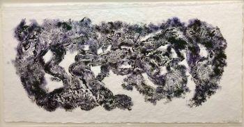 Zonder titel IV Purple by Hans Keuls