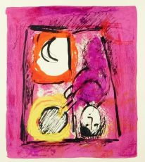 La fênetre / The window by Marc Chagall