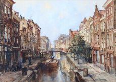 Rotterdam, Delftsevaart  by  Herman Paradies