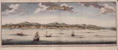 Historical view of City of Ambon by Valentyn, Francois (1666-1727)
