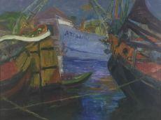 Oosterhaven by Johan Dijkstra