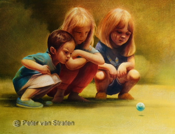 Please Stay and Play   by Peter van Straten