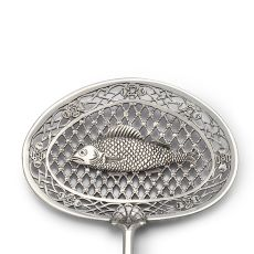 Dutch silver fish slice by Frederik Rudolf Precht