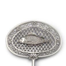 Dutch silver fish slice by Frederik Rudolf Precht