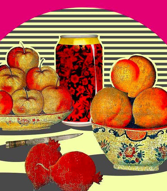 Persian Still life 1 by Hojat Amani