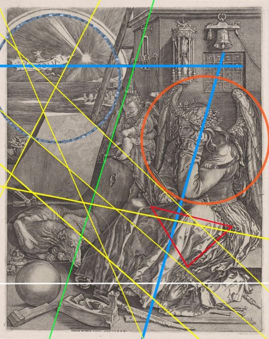 Composition Synesthétique IV (Dürer) by Laurence Aëgerter