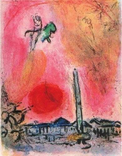 Place de la Concorde by Marc Chagall
