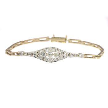 Diamond Art Deco bracelet by Unknown Artist