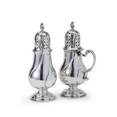 A Dutch silver set of casters by Johannes D' Hoy