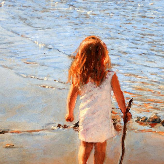 At the beach by Ralf Heynen