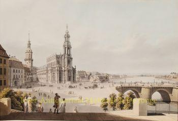 Dresden naar Gotthold Thieme by  Christian Hammer