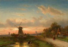 A Dutch River view