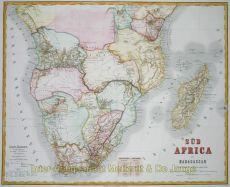 Sud Africa mit Madagascar by Graf, C.