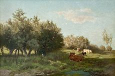 The 'Uiterwaarden' at Oosterbeek (flood plains) by Gerard Bilders