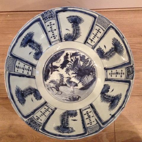 Large wan-li bowl by Unknown Artist