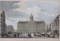 THE AMSTERDAM ROYAL PALACE, THE EIGHTH WONDER OF THE WORLD     by Vinkeles, Reinier