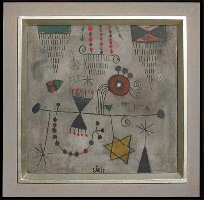 Beeldtekens/Figurative Marks by Ferenc Gögös