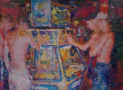 The Gamblers  by Niels Smits van Burgst