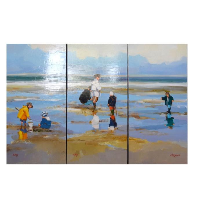 Vier Kinderen by Ewa Rzeznik