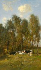 A forest view by Jan van Essen