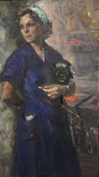 Woman Worker by Arkadiy Pavliuk
