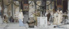 The Vintage Festival  by Lawrence Alma-Tadema