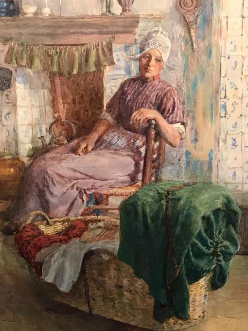 Domestic scene by William Rainy