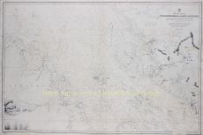RARE 19TH CENTURY MAP OF THE MALACCA STRAIT WITH KUALA LUMPUR   by Unknown Artist