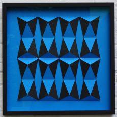 Triangulairs vormen Trapezium by Eef de Graaf