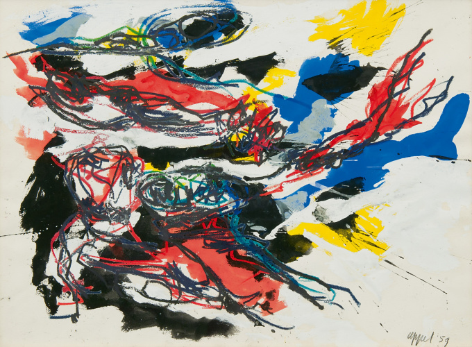 Untitled by Karel Appel