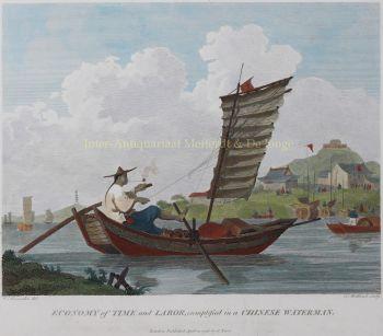 Chinese waterman after William Alexander by William Alexander