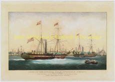 havengezicht Rotterdam anno 1842 by Edward Duncan
